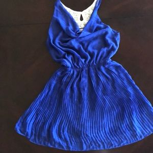 Blue Sheer Dress
